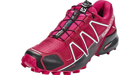 Salomon Speedcross 4 Shoes Women Tibet Red/Sangria/Black